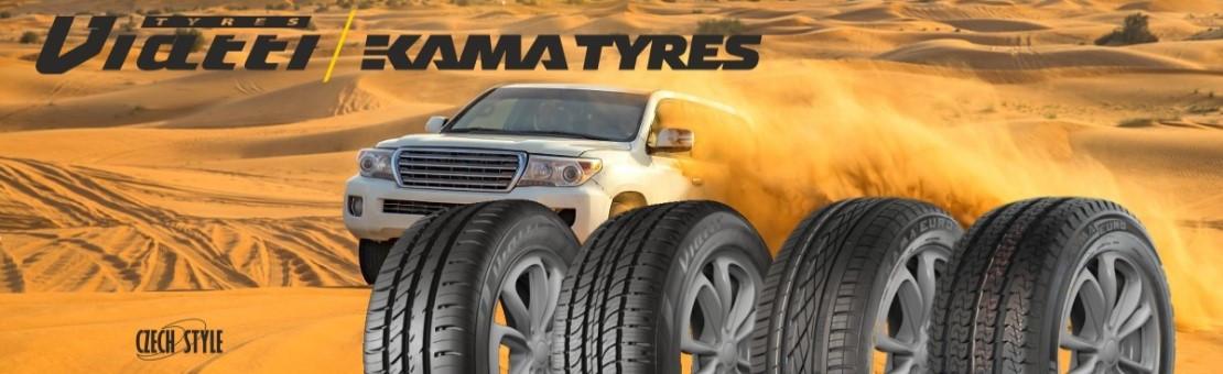 Osobní pneumatiky KAMA